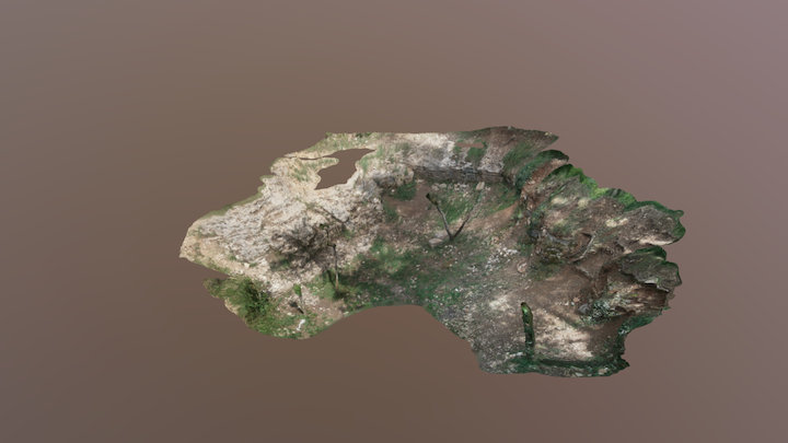 Old Limestone Quarry 3D Model