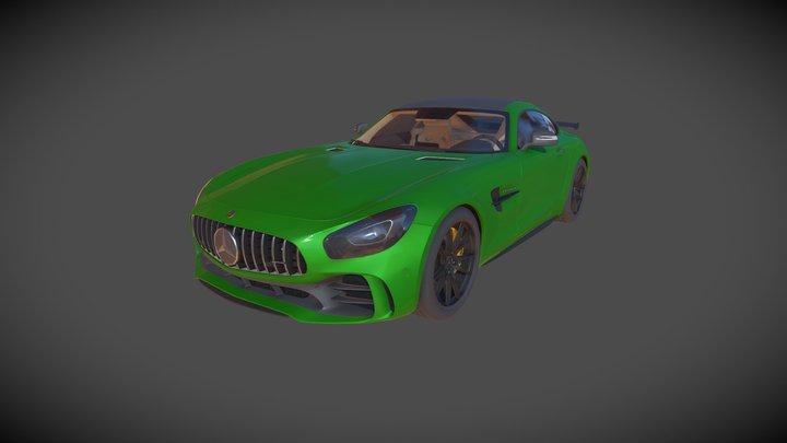 Mercedes GTR 3D Model