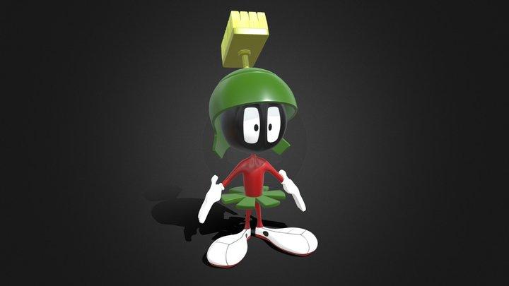 Marvin the Martian 3D Model