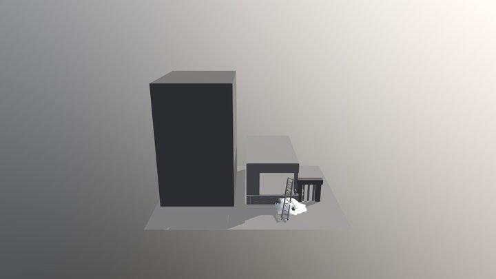 Rubble 3D Model