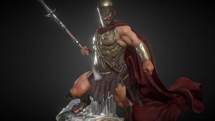 Spartan  King 3D Model