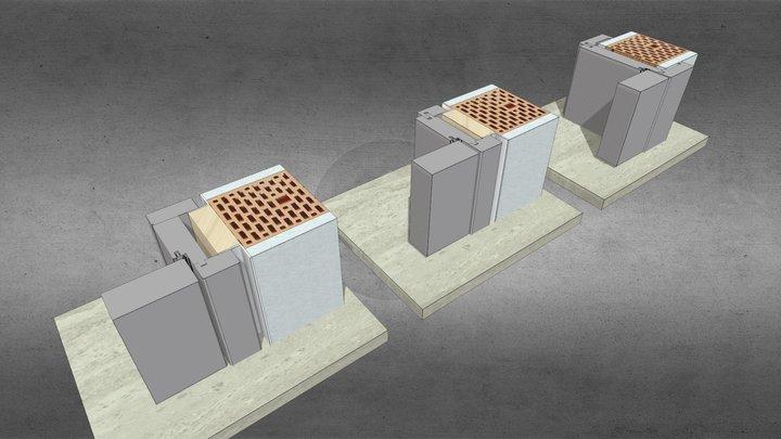 ZT 3.2  39 flächig Varianten 3D Model