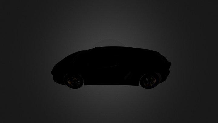 Aventador 3D Model