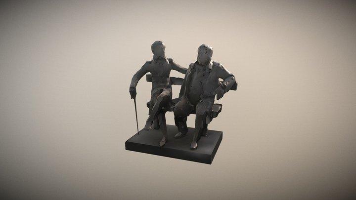 Pushkin&Krylov 3D Model