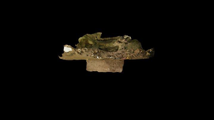 Excavation Unit A-1 3D Model