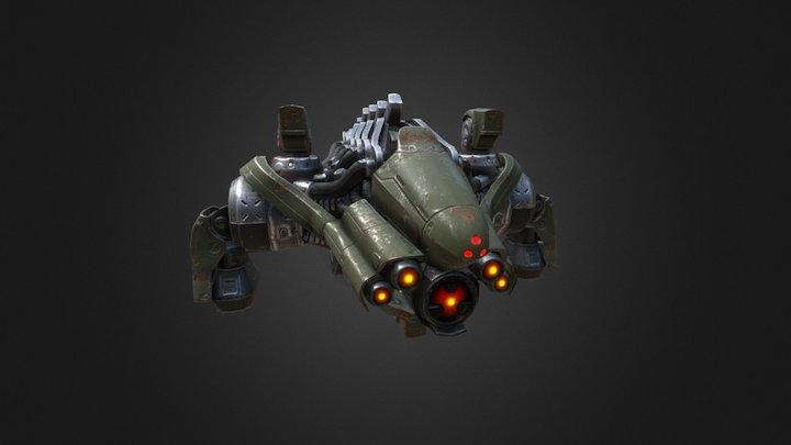 Cyber Drone 3D Model