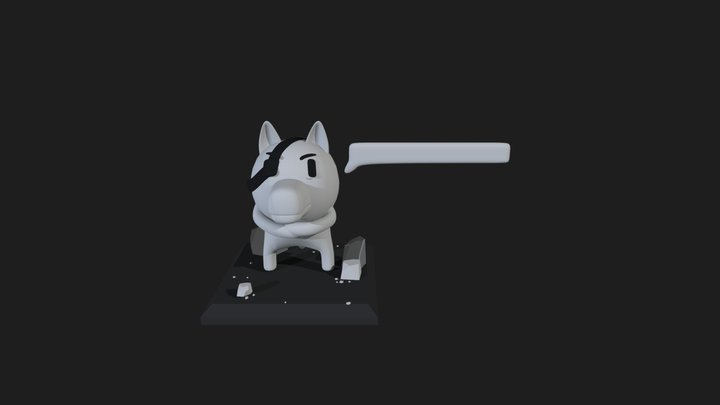 Canine from Minit 3D Model