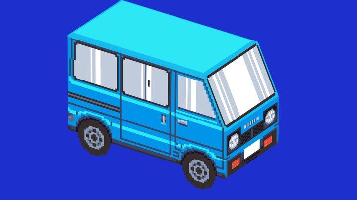 Suzuki ST90 3D Model