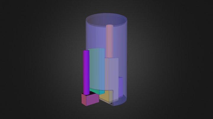 Cansat model 1 3D Model