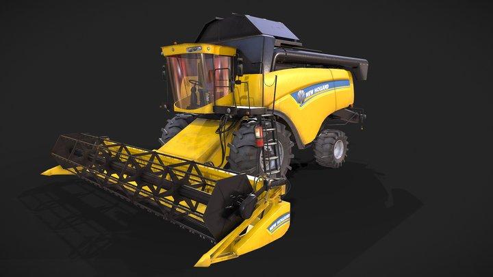 New Holland CX6090 3D Model