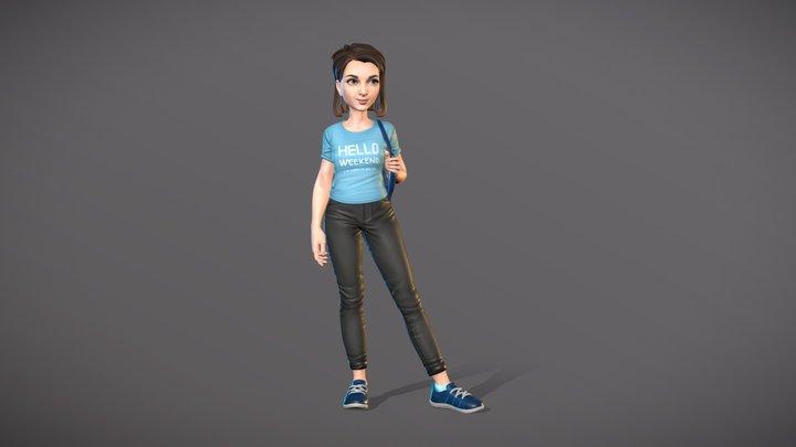 self-portrait 3D Model