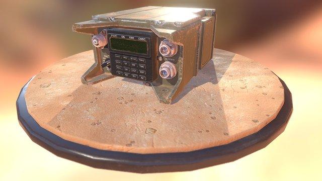 Radio Sincgars 3D Model