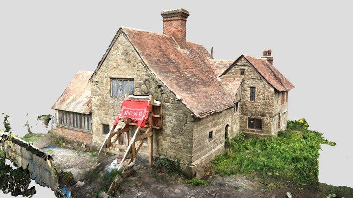 St Andrews Chapel - Boxley Abbey, Kent 3D Model
