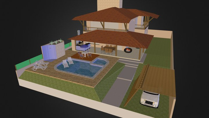 Casa Sérgio B 3D Model