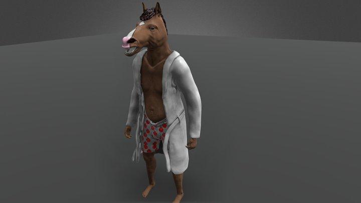 Bojack horseman character 3D Model
