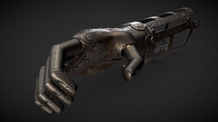 Iron Hand - Prosthetic Arm 3D Model
