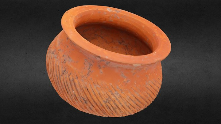 Pottery, 1st to 3rd century (Cambodia) 3D Model