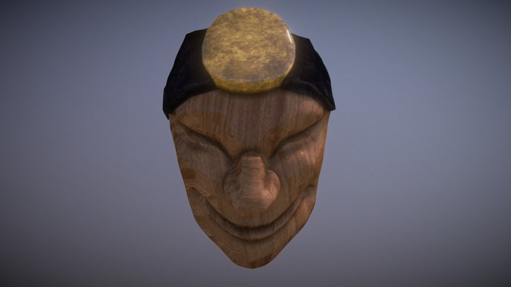 Shaco Mask 3D Model