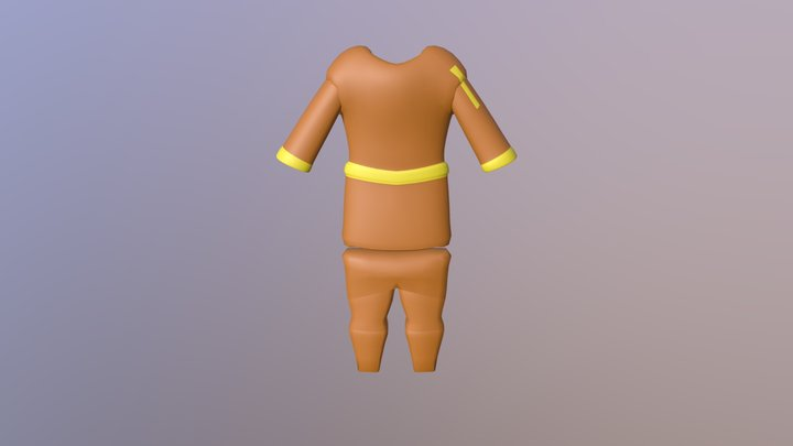 Civillian Clothing 3D Model