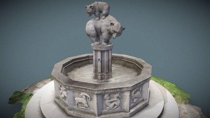 Tierkreisbrunnen vulgo Bärenbrunnen 3D Model