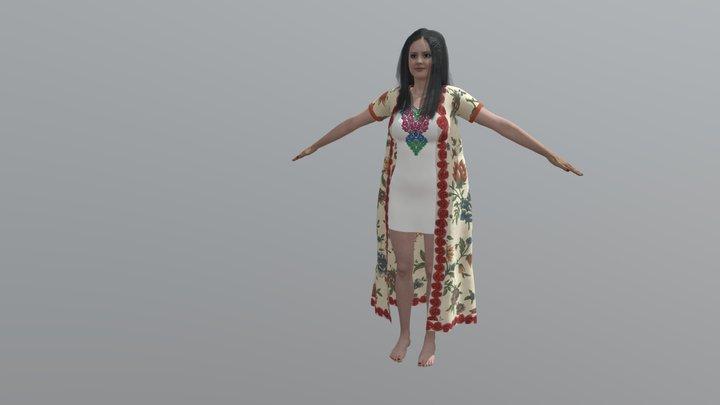 Dola CC FBX 3D Model