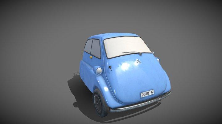 Isetta 3D Model