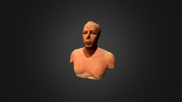 Bust of Prince Ankhhaf 3D Model