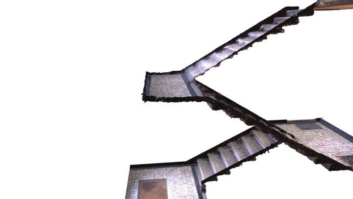 Stairway 3D Model
