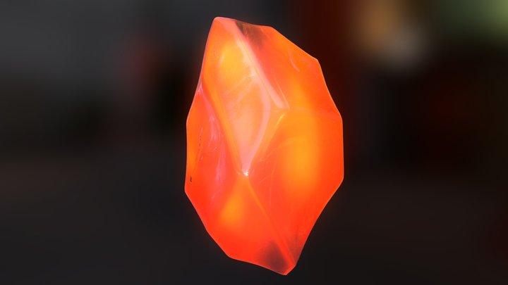 Crystal Test 01 3D Model
