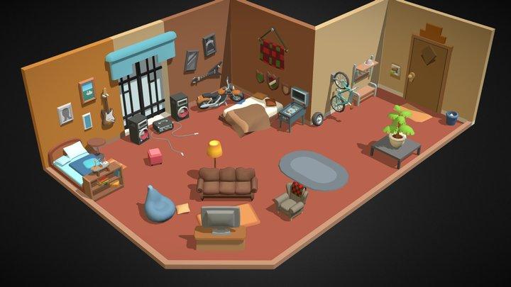 Room leepuringa 3D Model