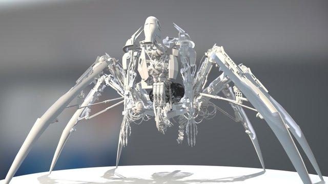 Complex-Robot 3D Model