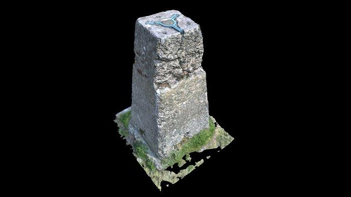 Stone Monument 3D Model