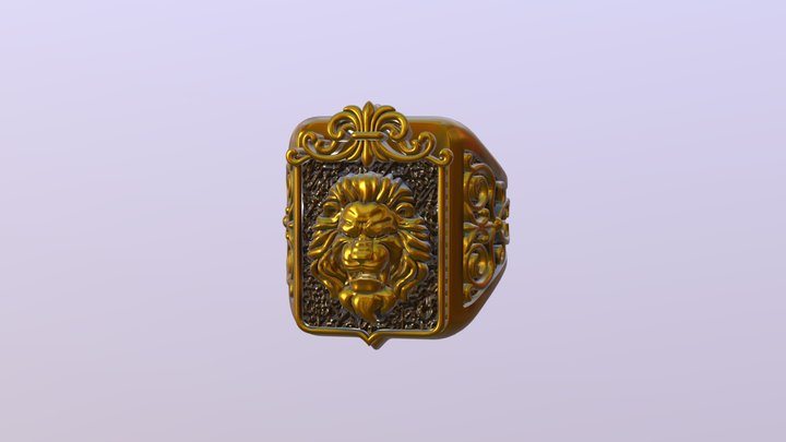 Lev pravka 3D Model