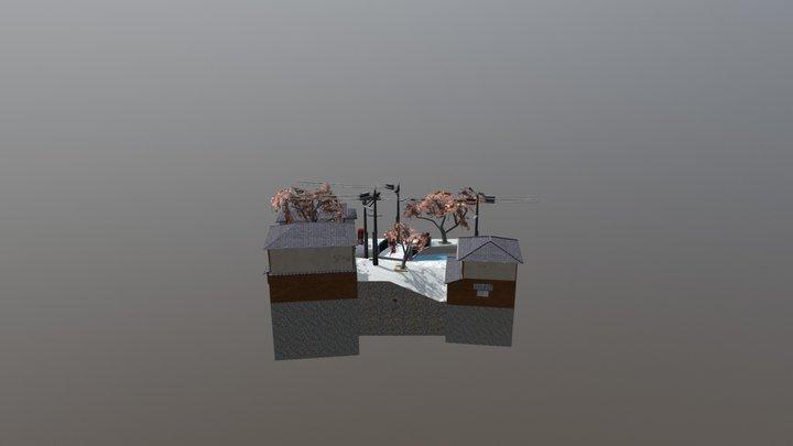 CityScene Kyoto - Japan 3D Model