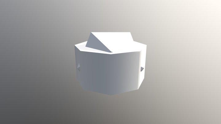 June 2019 Calendar 3D Model