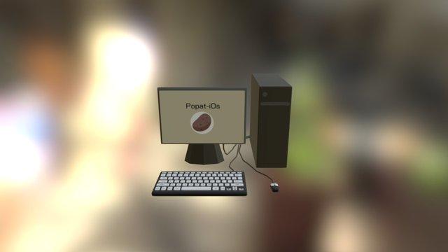 Computer Model 3D Model