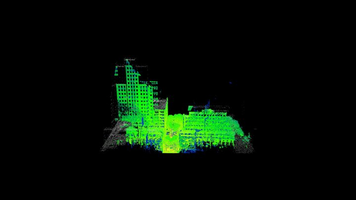 Christine's Lidar View 3D Model