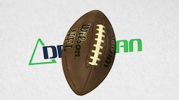 Football-scanned-with-artec-3d-scanner 3D Model