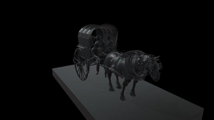 TARTANA CAB 3D Model