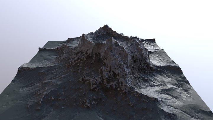 Volcano_v02 3D Model