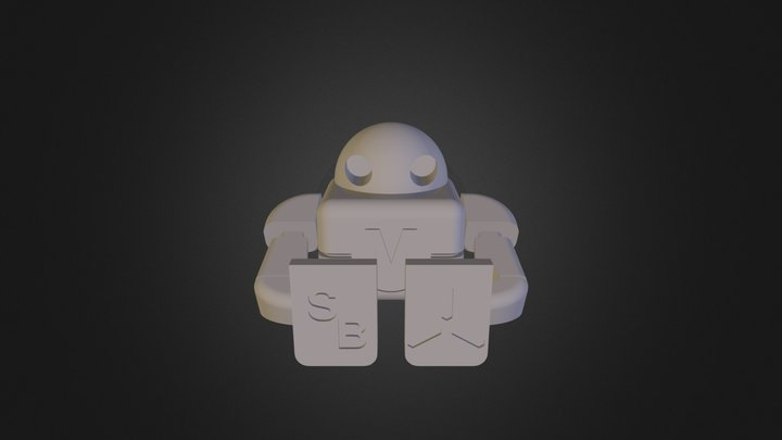 Makey - MakerFaire Robot by LFS 3D Model