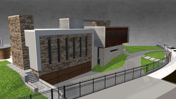 LONG HOUSE 3D Model