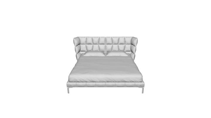 The Husk bed 180x200. DG-HOME 3D Model