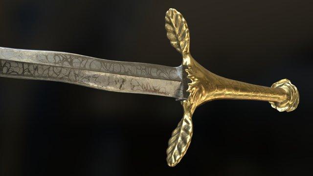 Dagger of Thorns 3D Model