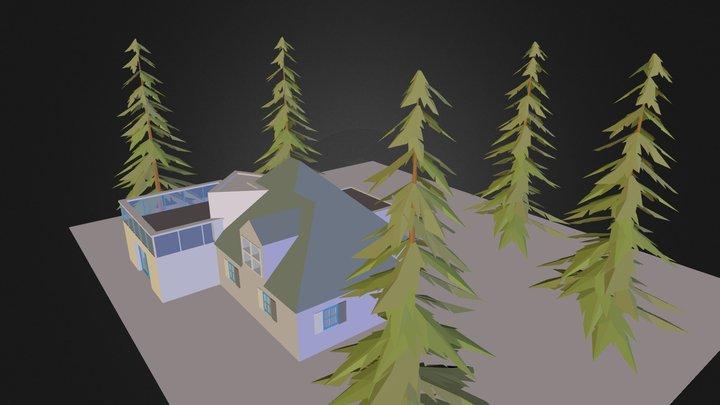 Maison2 3D Model