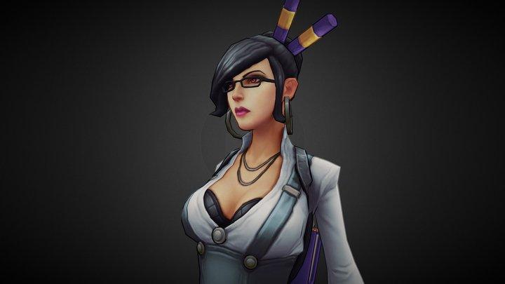 Rage Squad: Ana The Teacher 3D Model