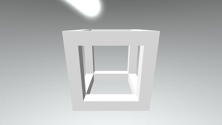 Cuboid 3D Model