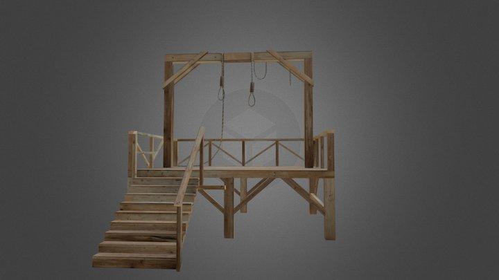 Gallows 3D Model