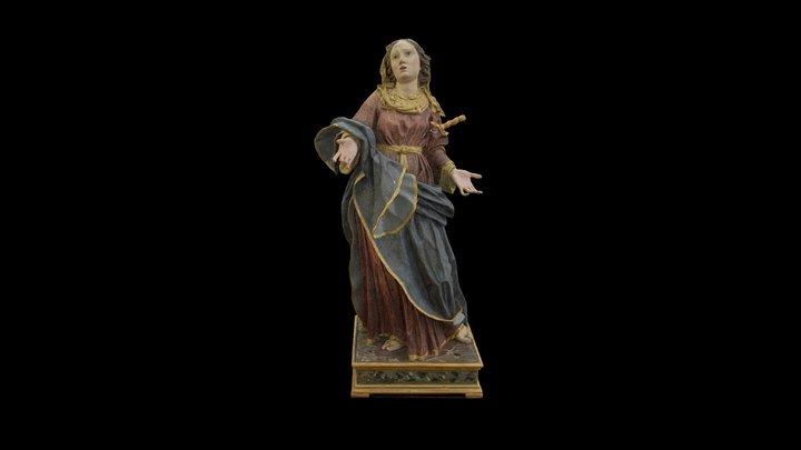 Madonna Addolorata Campolieto (CB) 3D Model