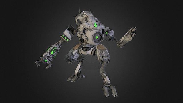 Drak Gear 3D Model